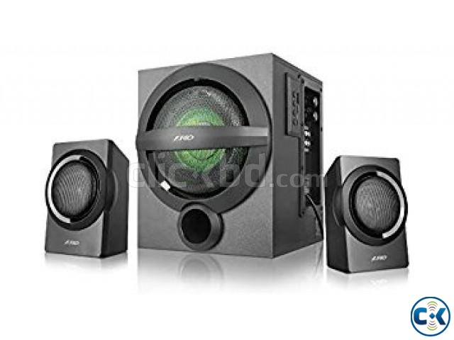 F D A140X Black Bluetooth 4.0 Audio Streaming 2 1 Speaker | ClickBD large image 3
