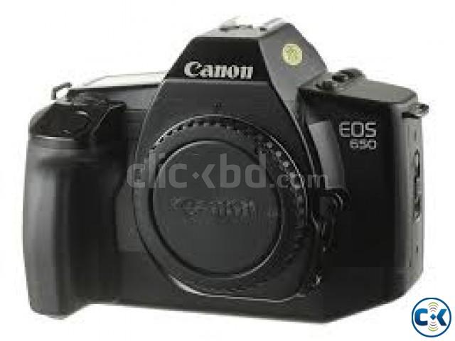 Canon EOS 650D Digital SLR Camera - Black | ClickBD large image 0
