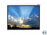 Wall Projector Screen 84