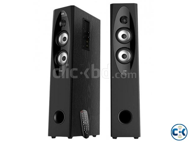 F D T-60X Full Range 110W Wireless Bluetooth Tower Speaker | ClickBD large image 0
