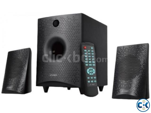 F D F210X 2.1 Multimedia USB FM Bluetooth 4.0 Speaker | ClickBD large image 0