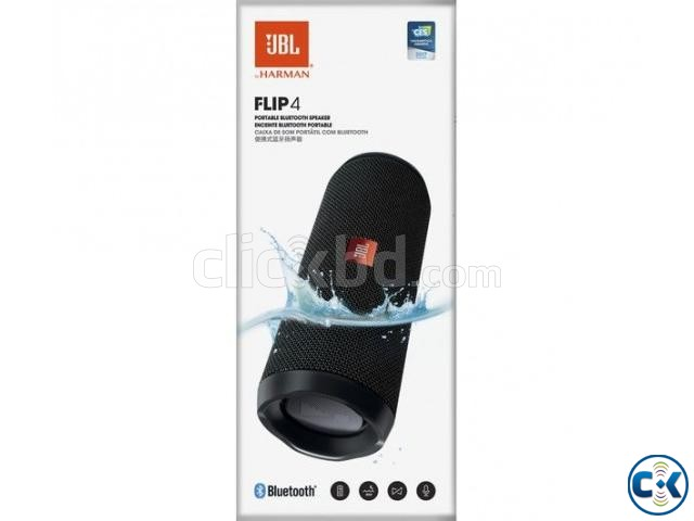 JBL Flip 4 Portable Speaker Black | ClickBD large image 0
