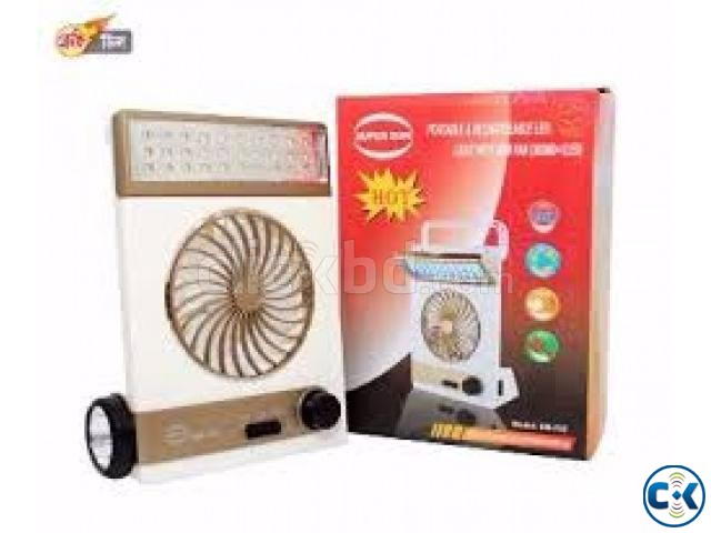 4 in 1 Fan LED Light | ClickBD large image 0