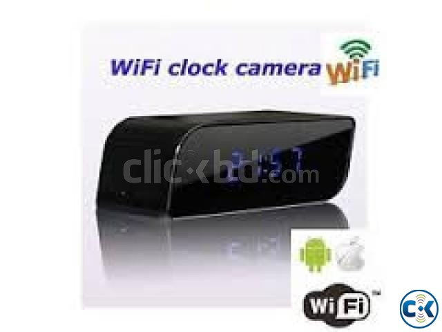 Wifi Digital Clock Camera FULL HD | ClickBD large image 0