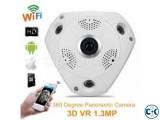 360 VR IP Camera 1.3 Megapixel