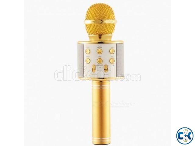 Bluetooth Microphone Karaoke 858 | ClickBD large image 2