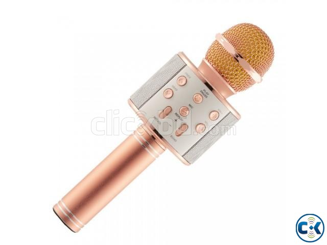 Bluetooth Microphone Karaoke 858 | ClickBD large image 3