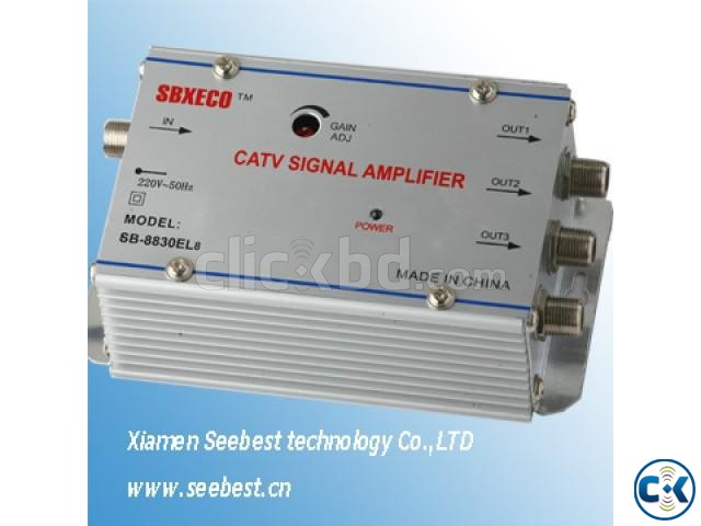 CATV Cable TV Signal Amplifier 4 Output | ClickBD large image 2