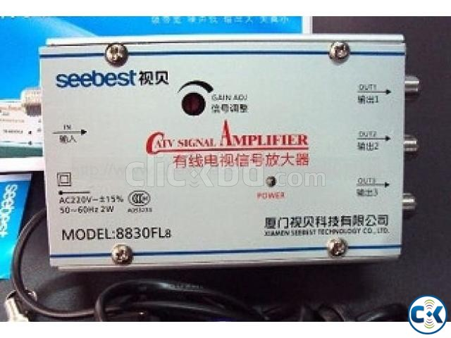 CATV Cable TV Signal Amplifier 4 Output | ClickBD large image 4