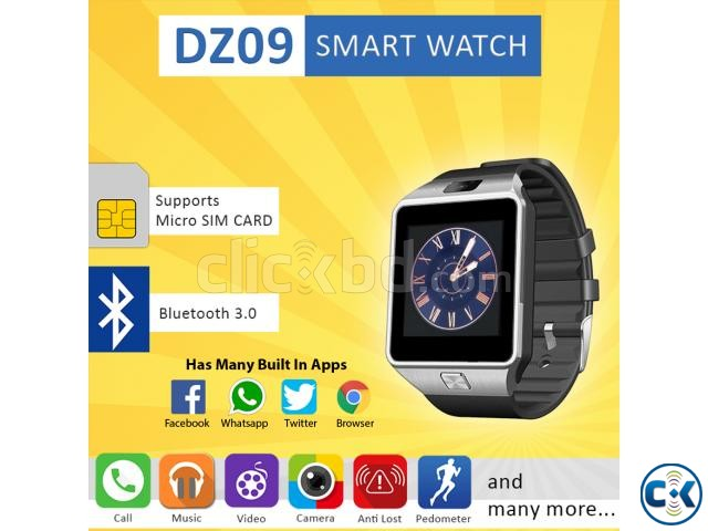 DZ09 Smart Watch - Samsung Gear 2 Mastercopy | ClickBD large image 0