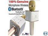 Karaoke Wireless Bluetooth Microphone Q7