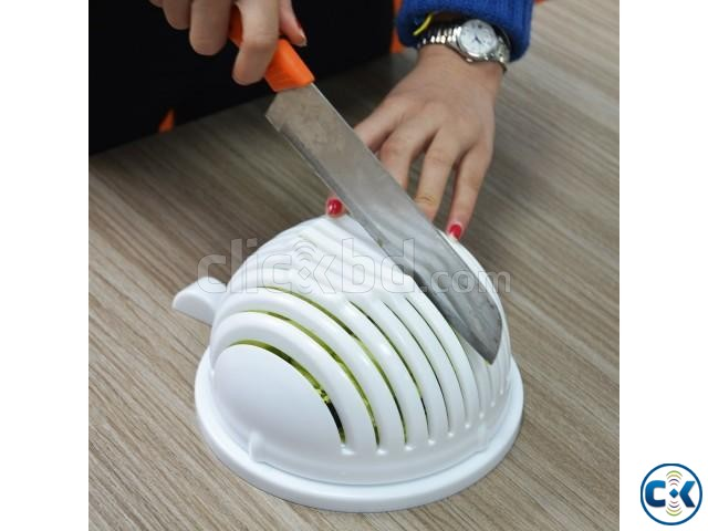 - Salad Cutter Bowl | ClickBD large image 0