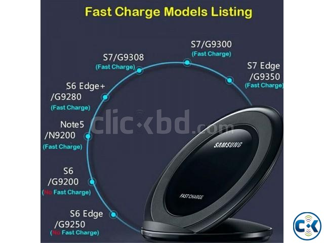 Samsung Wireless Charger Pad Fast Charging | ClickBD large image 1