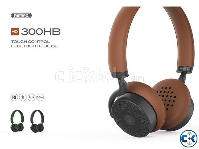 Remax RB 300HB Bluetooth Headphone | ClickBD large image 1