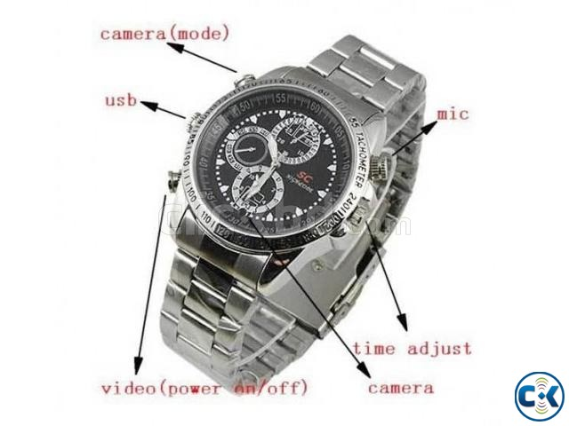 Spy Camera Watch Full HD Night Vision Video Record QBHH  | ClickBD large image 0