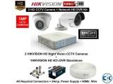 CC CAMERA 4 PCS. HIK VISION 700TV CCTV Camera FOR YOUR HOME