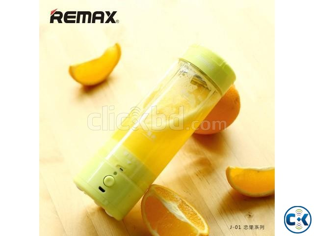 Remax Portable Rechargeable Electric Fruit Juicer Cup | ClickBD large image 0