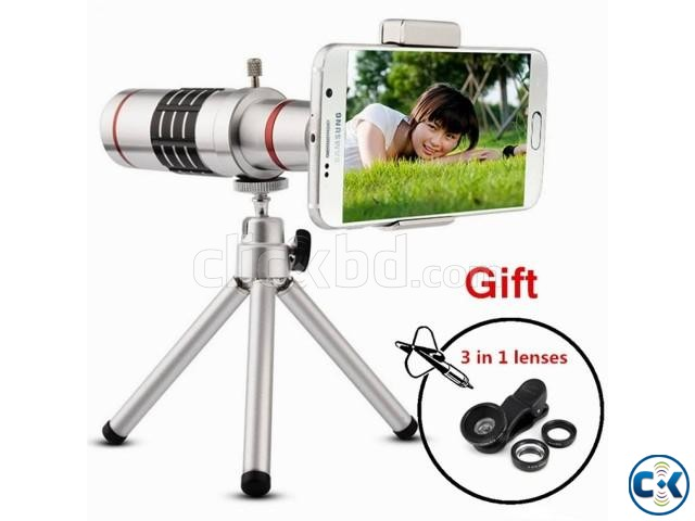 18X Universal Zoom Lens | ClickBD large image 0