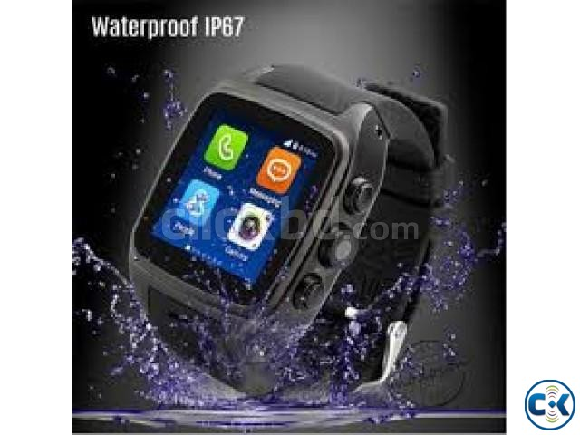 x01 Smart watch android Waterproof   ClickBD large image 2