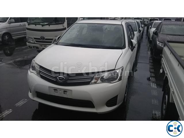 TOYOTA AXIO X WHITE NEW SHAPE | ClickBD large image 0