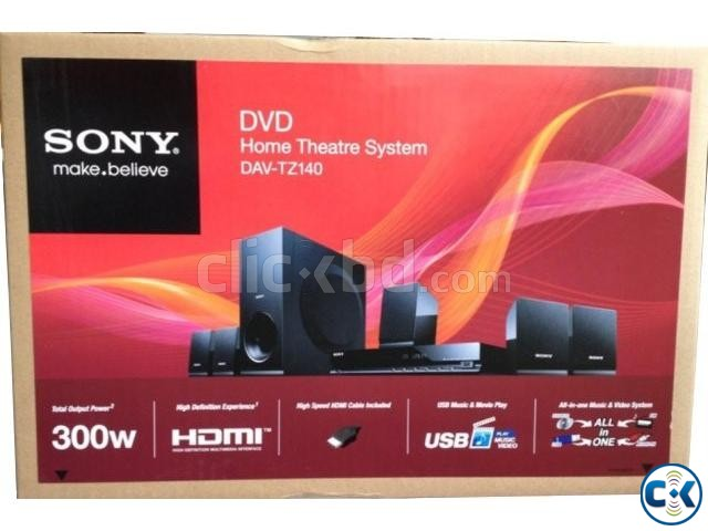 SONY HOME THEATER SYSTEM TZ140 WITH DVD PLAYER 300 WATT | ClickBD large image 2