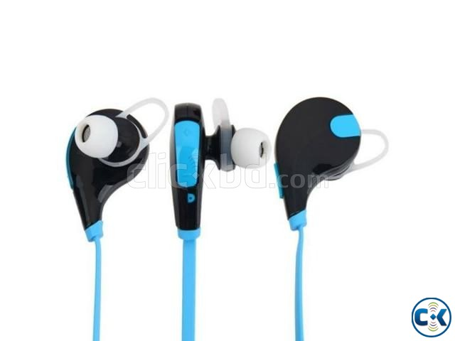 Jogger QY7 Sweatproof Sports Stereo Bluetooth Earphone | ClickBD large image 1
