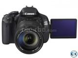 Canon EOS 600D 18MP CMOS 3