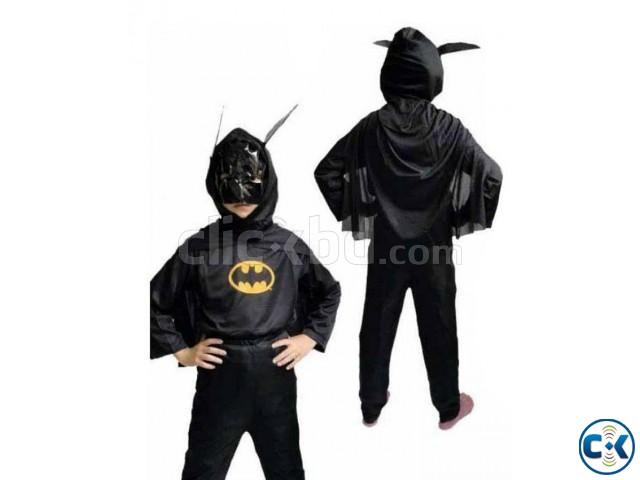 Batman Costume for Kids - Black -1pc | ClickBD large image 0