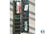 DDR1 Ram 2GB - 2 pcs