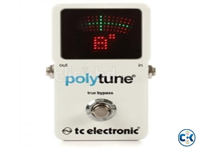 01. TC Electronic PolyTune 2 Polyphonic Tuner | ClickBD large image 0