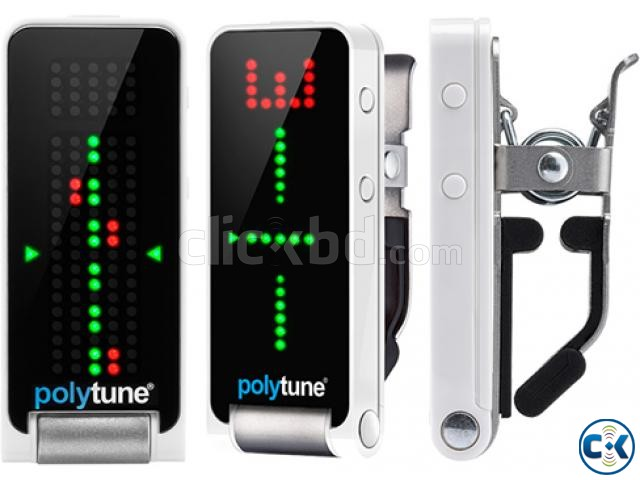 TC Electronic Polytune Clip-On Guitar Tuner | ClickBD large image 0