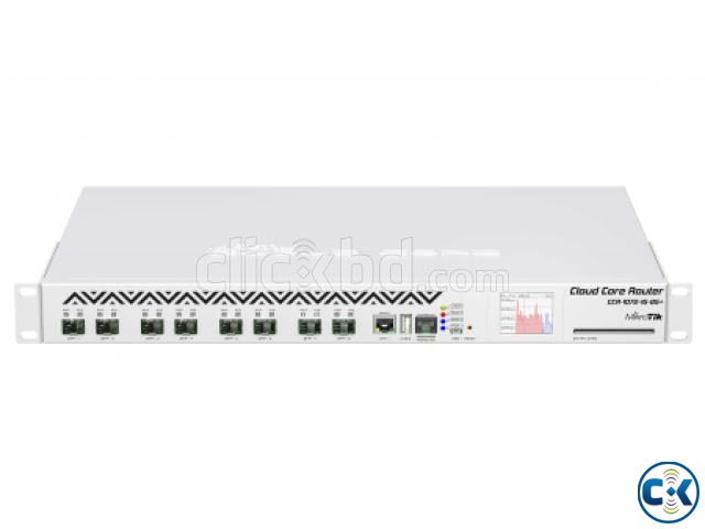 MikroTik Cloud Core Router 1072-1G-8S  | ClickBD large image 1