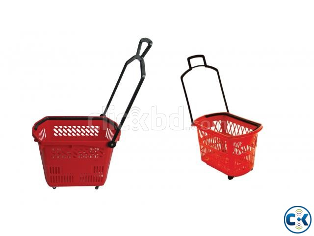 Plastic Shopping Baskets with Handle in Bangladesh | ClickBD large image 0