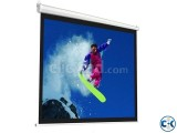 Wall Or Manual Projection Screen 70 x 70