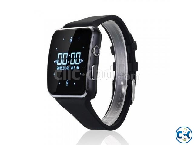 Original X6 watch Phone Original carve display IPS screan in | ClickBD large image 0