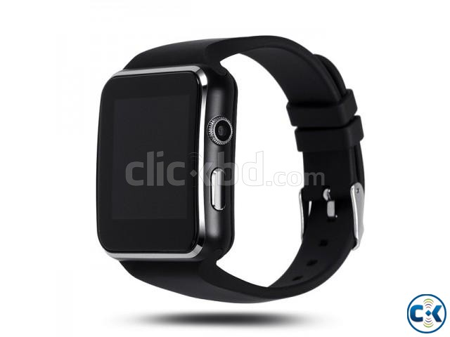 Original X6 watch Phone Original carve display IPS screan in | ClickBD large image 1