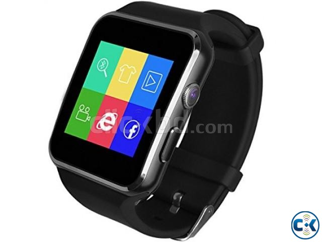 Original X6 watch Phone Original carve display IPS screan in | ClickBD large image 3