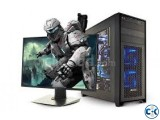 Desktop PC with Intel Core i3 250GB 15 LCD Gaming Computer