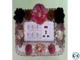 Fabric switch sticker dust cover plug protective