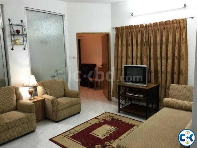 2250 Sft. 3 bed Fully Furnished Apartment for rent at Banani | ClickBD large image 2