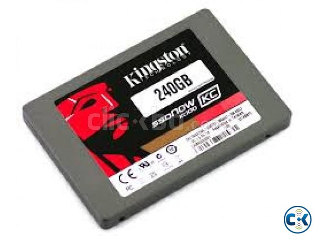 TAKE NO.1 SSD KINGSTONE 240 GB FOR YOUR PERSONAL USE | ClickBD large image 0
