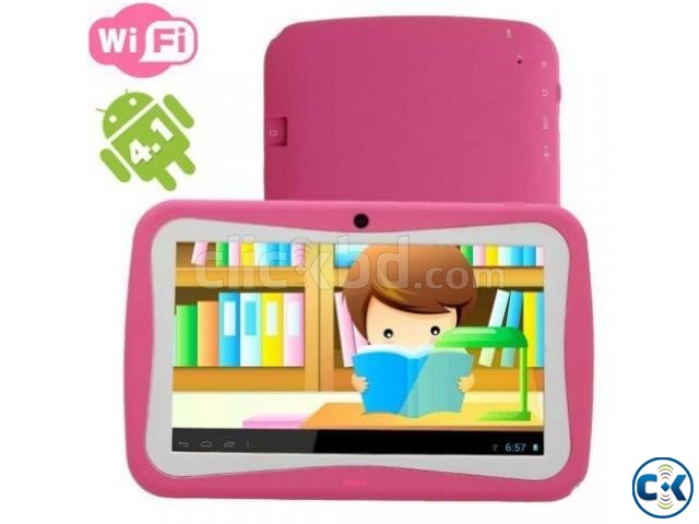 7 inch Wifi Kids tab Pc intact Box 1 year warranty | ClickBD large image 0