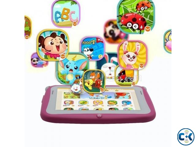 7 inch Wifi Kids tab Pc intact Box 1 year warranty | ClickBD large image 1