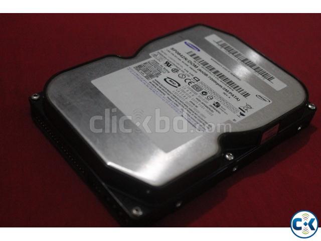 Samsung 80GB 7200RPM IDE Hard Disk | ClickBD large image 0