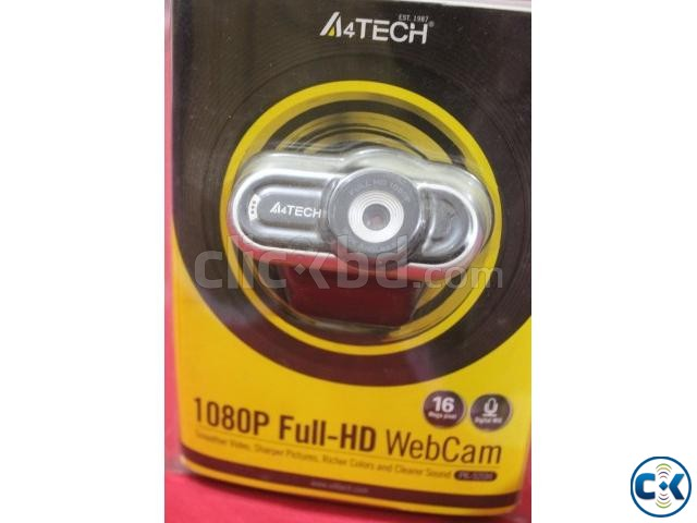 A4Tech 16MP Full-HD WebCam | ClickBD large image 1