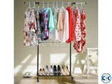 ADJUSTABLE SINGLE PORTABLE CLOTHE HANGER