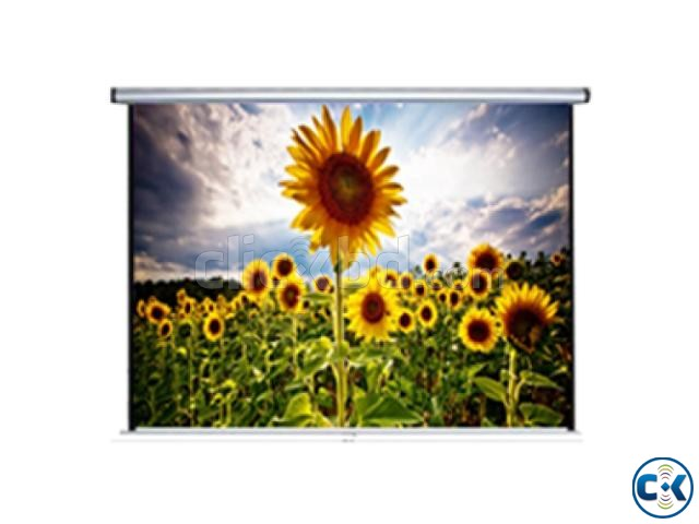 Manual Projection Screen - 96 x 96  | ClickBD