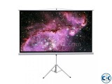 96 x96 Tripod Projector Screen