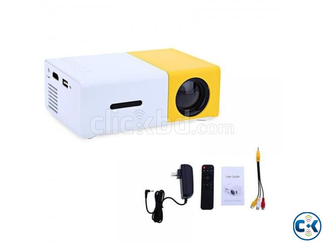 YG300 Projector Portable HD Projector | ClickBD large image 0