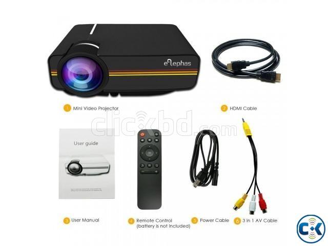 YG400 LED Projector 3D HD Projector | ClickBD